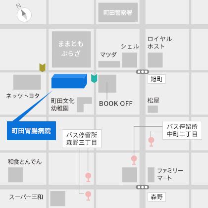 当院周辺地図
